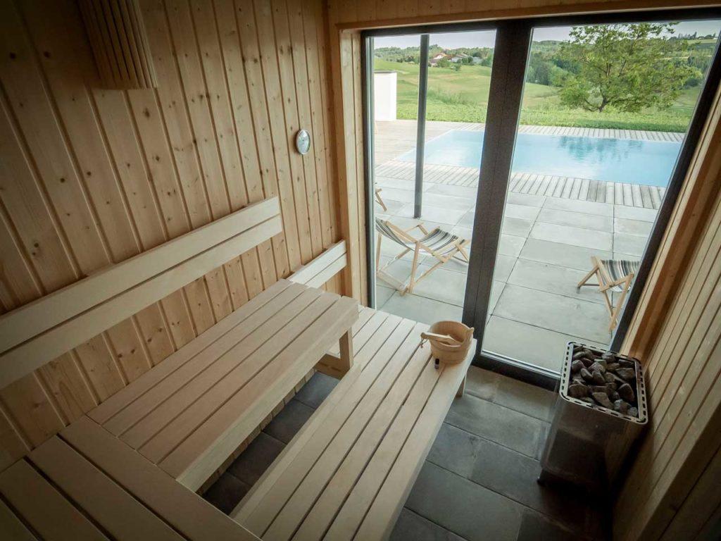 Ollers Urlaub Pool Sauna Ollersdorf